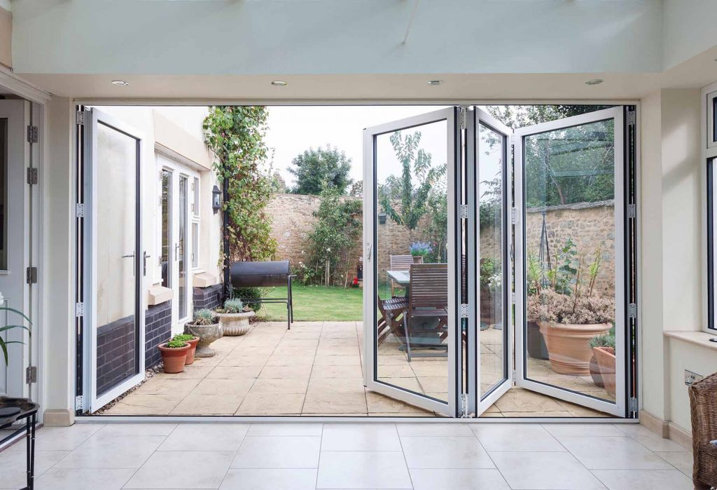 Visofold White Bifold Door