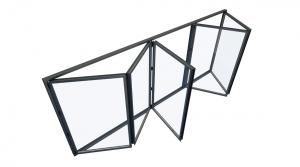 Visofold-600 alumiunium bifold doors